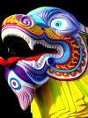 Congres De kanteling van de huidige economische cyclus, Forecast 2019 and Beyond, Schogt Market Timing, Chinese dragon with bright colors